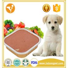 Корм для домашних животных для экспорта куриного мутного влажного консервированного корма для собак