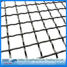 High Mangan Steel Crimped Wire Mesh