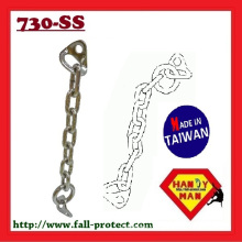 730SS-10 Chain Set Industrial with Bolt Hanger with Ring Rock Climbing Chain Anchor