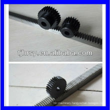 Module1,1.5,2,2.5 gear rack and pinion