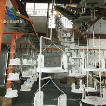 High Efficient Recycling Aluminum Powder Coating Line