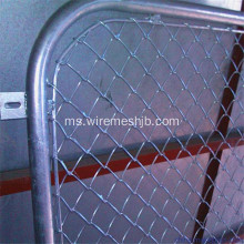 1.5M * 2.5M Panel Pagar Link Galvanized Chain