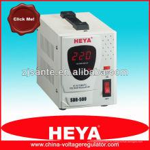 Regulador de voltaje de tipo relé SDR-500VA