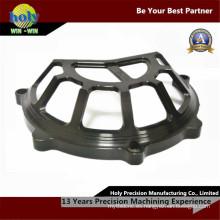 La fabricación del CNC que trabaja a máquina la motocicleta parte el producto del marco metálico del CNC