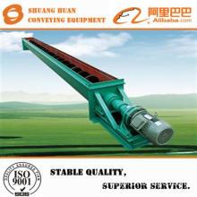 low noise screw conveyor for grain