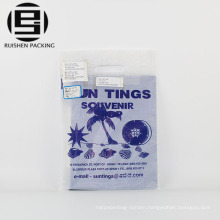 Die cut hdpe plastic bags for garment