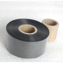 Thermal printer ribbon TTO 55mmx600m out / ink black for barcode machine