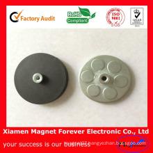 Permanent Rare Earth Neodymium Magnet Holder Rubber Coating Pot Magnet