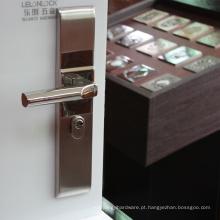 Forneça todos os tipos de fechadura de porta embutida, porta móvel de bloqueio de porta, trava de segurança, piso