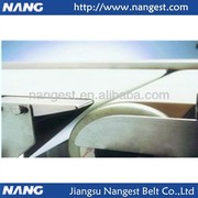 super thin white cooling tunnel PU belt