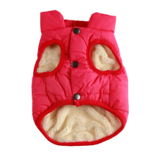 2 Layers Fleece Lined Warm Dog Jacket