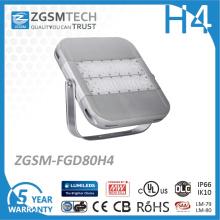 Stadiums-Licht 80W im Freien LED mit Cer RoHS Zertifikat