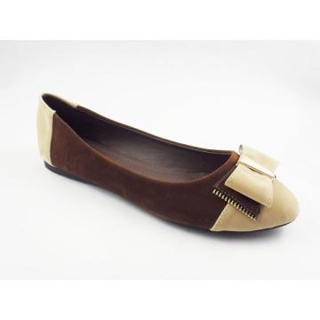 Neue Stil Frauen Kleid flache Schuhe (HCY03-123)
