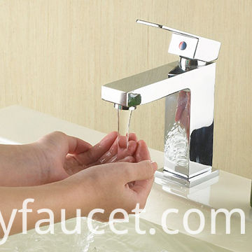 square bathroom faucets