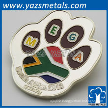 color fill metal silver commemorative coin