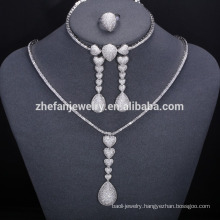 2018 trending products saudi arabia wedding jewelry african bead jewelry set