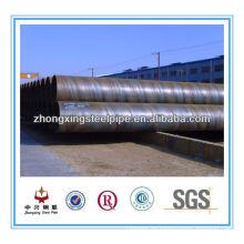 ASTM A252 grade2 Spirale Stahl Rohr