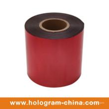 Aluminio a prueba de alteraciones relieve hoja roja