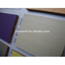 Veneer melamina bordo colores mdf 4mm