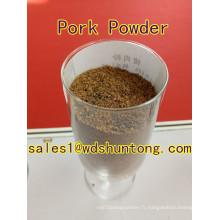 Poudre de porc pour l'alimentation des animaux