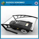 High quality garden robot lawn mower parking garage, robot mower roof