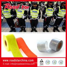 cinta reflectante de PVC 6cm cristal