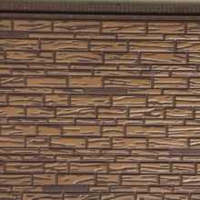 PU foamed composite metal wall decorative panel