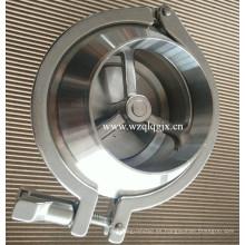 Válvula de retención sanitaria de acero inoxidable Nrv