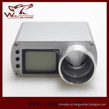 Power LED medidor Display Airsoft táctico X3300 Metal cronógrafo