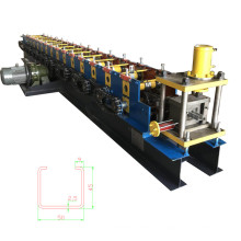 Light keel roofing making roll forming machine