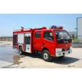 Dongfeng duolika 6 rodas caminhão de bombeiros de água