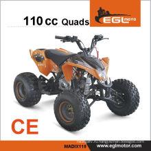 110cc мини-двухместный квадроцикл для детей