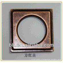 Квадратная дорожка для занавесок, аксессуары для римских штор, металлическая петля для занавесок 60мм