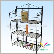 Fábrica personalizada de supermercado de carga de metal de metal para lanchas