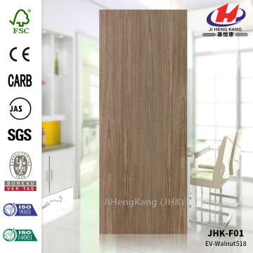 EV-Black Walnut HDF Veneer Door Skin