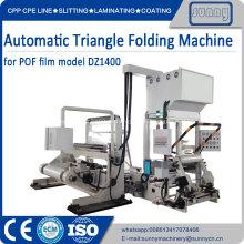 Plegadora automática central para película encogible POF