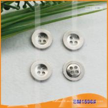 Botón de aleación de zinc y botón de metal y botón de costura de metal BM1596