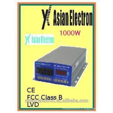 Onduleur monophasé hors réseau DC à AC 12VDC 1000W