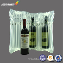 Self Adhesive Seal Hat Tripe Inflatable Bubble Air Bag Packing for wine bottle protective