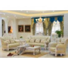 Гостиная диван с деревянной рамкой софы (518В)