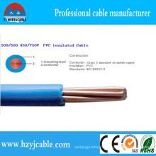 Thw 16AWG 600V Conducteur en cuivre isolant en PVC de China Manufcture