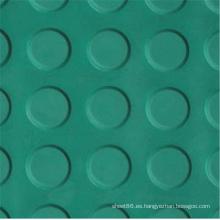 Hoja de goma antideslizante del diseño de la moneda de los colores diferentes