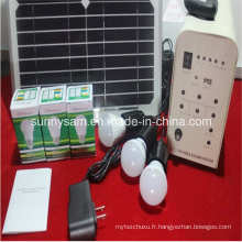 Système d'éclairage solaire à la maison de 20W