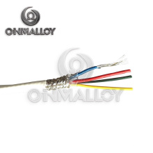 Silicone de borracha Isolado Nichrome Wire 0.5mm, 0.7mm, 1.0mm