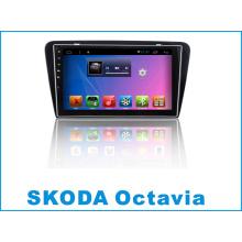 Android System 10.2 Inch Car DVD Player para Skoda Octavia