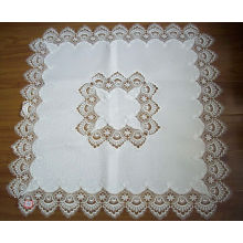 Lace Table Cloth with Machine Made 100% Polyester St80322