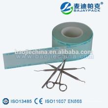 Bolsas y bobinas de esterilización de papel de grado médico