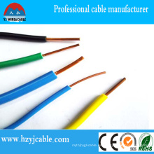 PVC aislado para la energía eléctrica y la iluminación