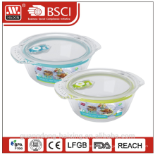 Vacuum Microwavable Freshness Preservation Heat-Resisting Glass Pot