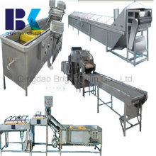 Automatic Temperature Control System Continuous Cooking Machine